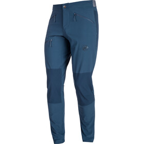 Mammut Pordoi - Pantalones de Trekking Hombre - Short azul